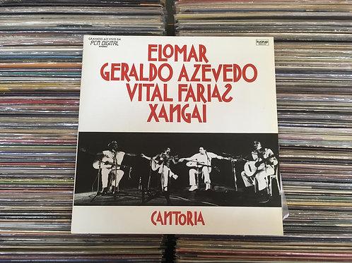 LP Elomar, Geraldo Azevedo, Vital Farias, Xangai - Cantoria 1