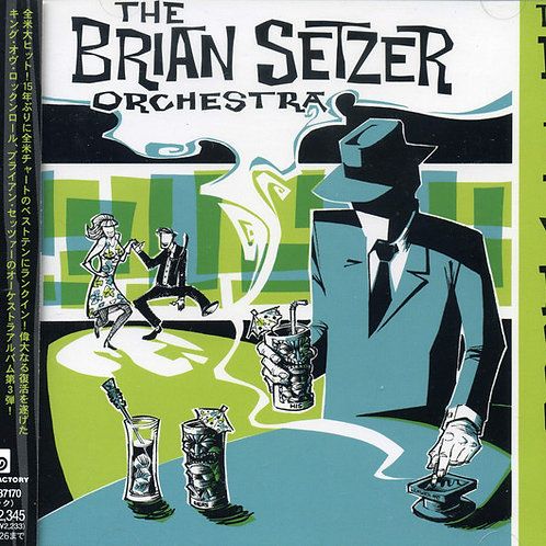 CD Brian Setzer Orchestra - The Dirty Boogie - Imp (Japan) - (Seminovo)