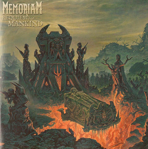 CD Memoriam - Requiem For Mankind - Lacrado