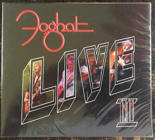 CD Foghat - Live II - Duplo - Digipack - Lacrado
