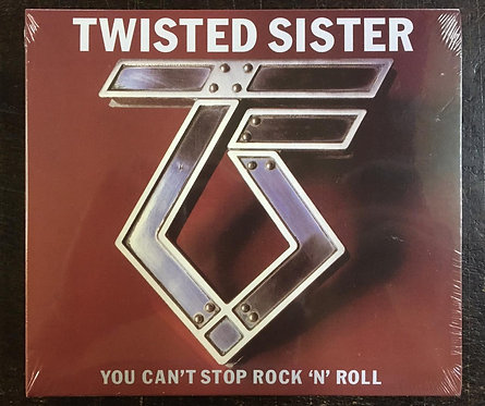 CD Twisted Sister - You Can't Stop Rock 'n' Roll - Duplo - Digipack - L