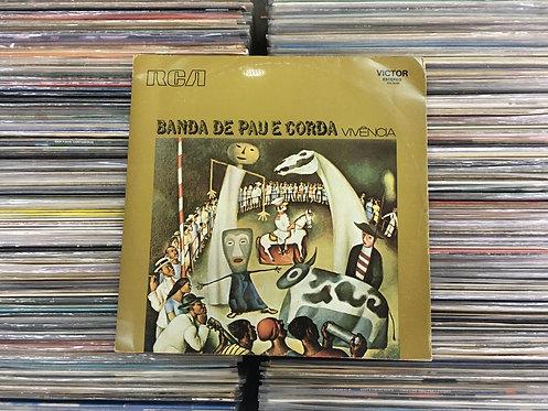 LP Banda De Pau E Corda - Vivência