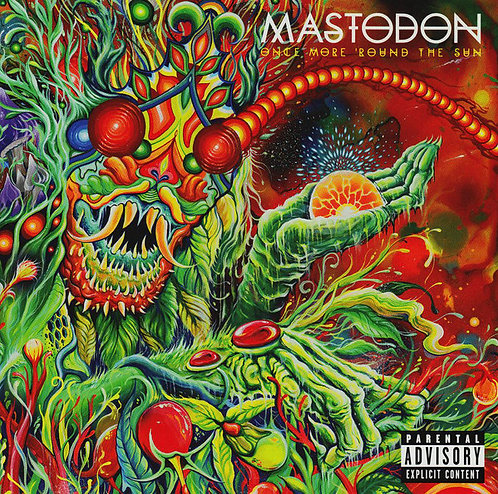 CD Mastodon - Once More 'round The Sun - Importado