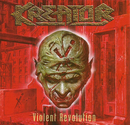 CD Kreator - Violent Revolution - Importado - Lacrado