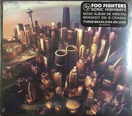 CD Foo Fighters - Sonic Highways - Digifile - Lacrado