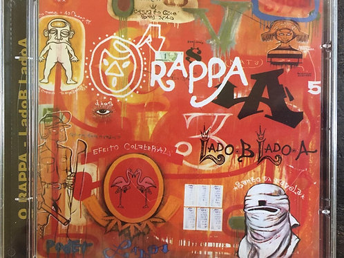 CD O Rappa - Lado B Lado A - Lacrado