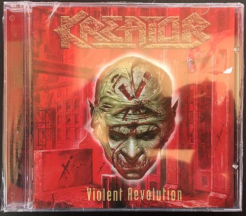 CD Kreator - Violent Revolution - Importado - Lacrado