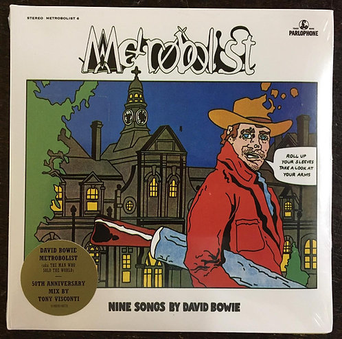 CD David Bowie - Metrobolist (Nine Songs By David Bowie) -Digifile - Lacrado