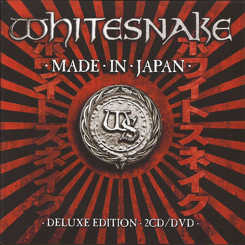 CD Whitesnake - Made In Japan - (2 CDs + DVD) - Importado - Digipack - Lacrado