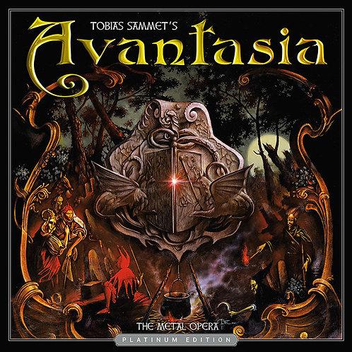 CD Avantasia - The Metal Opera - Digipack - Platimum Edition - Lacrado
