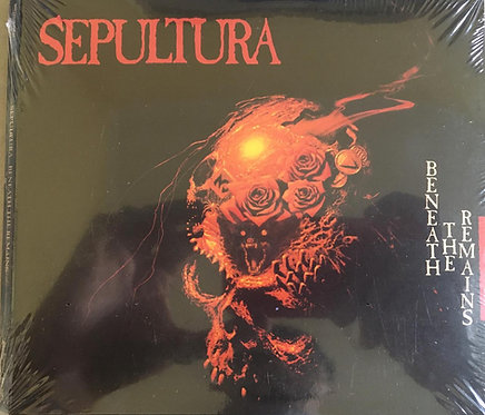 CD Sepultura - Beneath The Remains - Duplo - Digifile - Lacrado