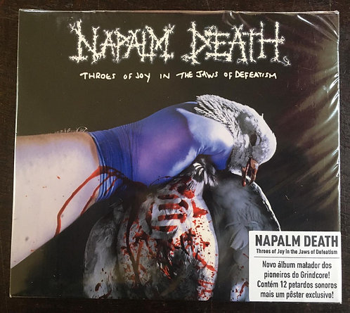 CD Napalm Death - Throes Of Joy In The Jaws Of Defeatism - Slipcase - Lacrado