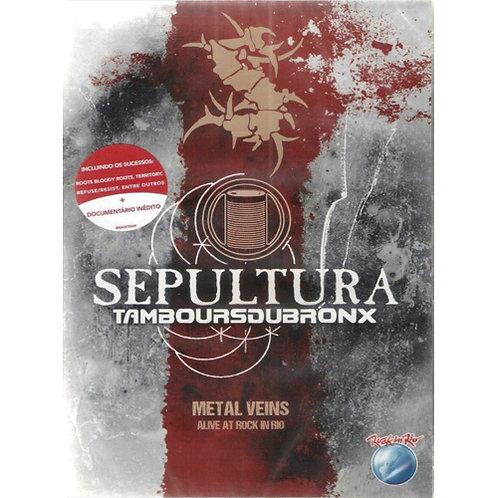 DVD Sepultura & Les Tambours Du Bronx - Metal Veins - Alive At Rock In Rio