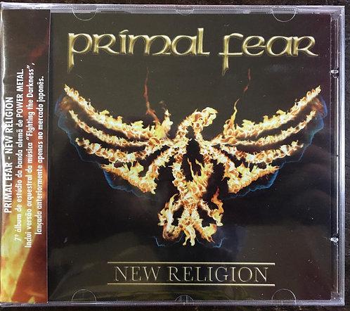 CD Primal Fear - New Religion - Lacrado