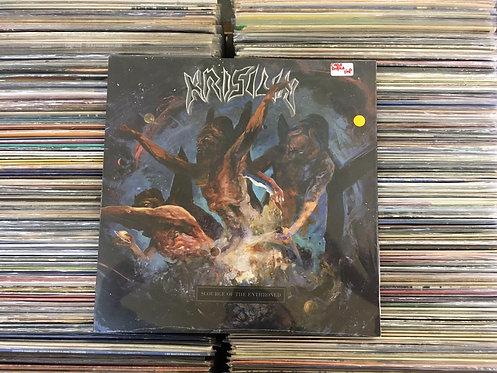 LP  Krisiun - Scourge Of The Enthroned - Vinil Amarelo - Lacrado