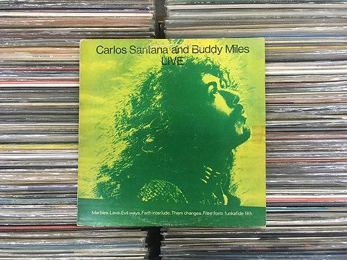 LP Carlos Santana & Buddy Miles - Live!