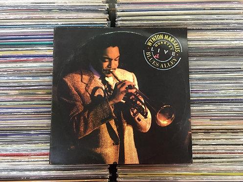 LP The Wynton Marsalis Quartet Live At Blues Alley - Duplo