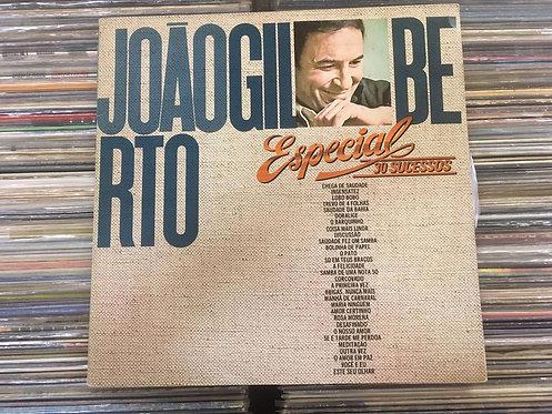 LP João Gilberto - Especial 30 Sucessos - Duplo - Capa Dupla