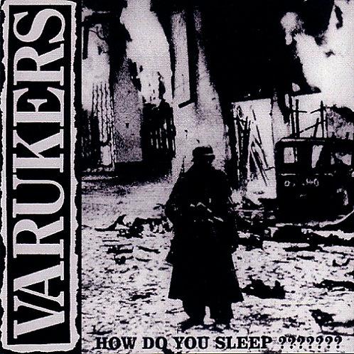 CD The Varukers - How Do You Sleep ??????? - Digipack - Lacrado