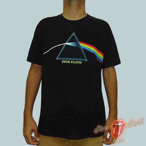 Camiseta Pink Floyd - The Dark Side Of The Moon - Stamp