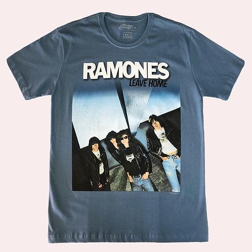 Camiseta Ramones - Leave Home - Stamp