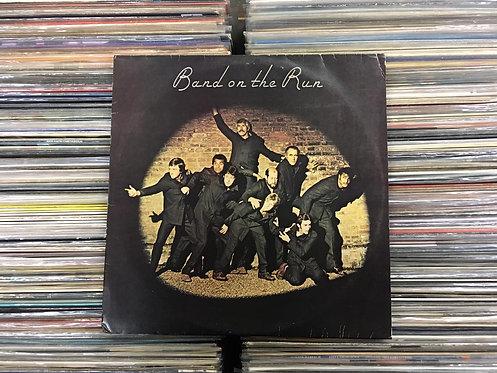 LP Paul Mccartney And Wings - Band On The Run - C/ Encarte
