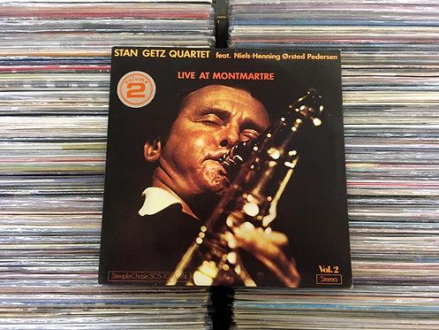 LP Stan Getz Quartet - Live At Montmartre Vol.2