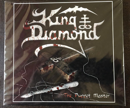 CD King Diamond - The Puppet Master - Slpcase - Lacrado