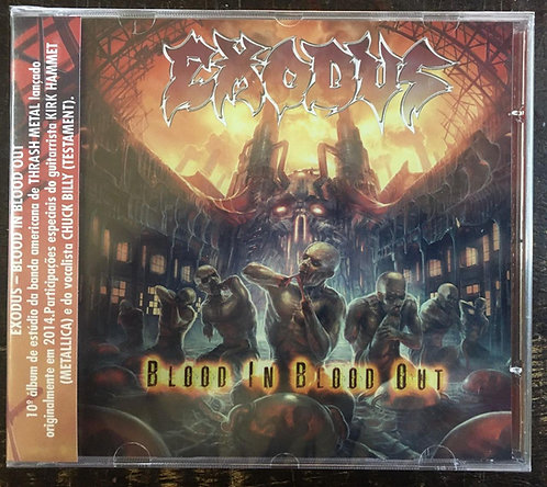 CD Exodus - Blood In Blood Out - Lacrado