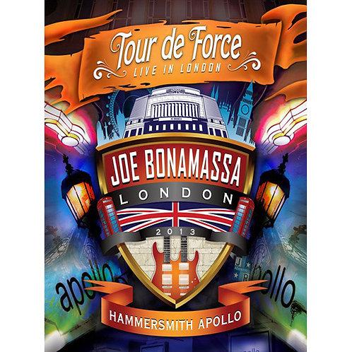 DVD Joe Bonamassa - Tour De Force - Live In London - Hammersmith Apollo