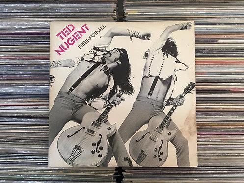 LP Ted Nugent - Free-for-all - Com Encarte - Capa Dupla