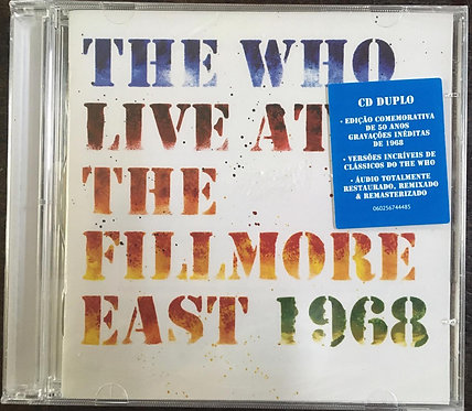 CD The Who - Live At The Fillmore East 1968 - Duplo - Lacrado