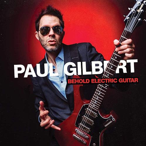 CD Paul Gilbert - Behold Electric Guitar - Lacrado