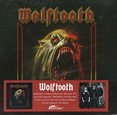 CD Wolftooth - Wolftooth 2018-2019 - Digipack - Lacrado