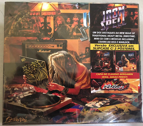 CD Iron Spell - Live Magic After Midnight - C/ 2 Pôsteres - Lacrado