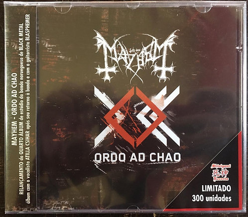 CD Mayhem - Ordo Ad Chao - Lacrado