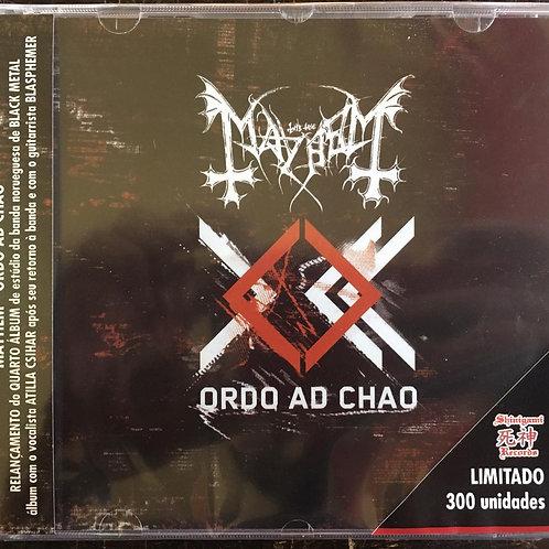 CD Mayhem - Ordo Ad Chao - Lacrado