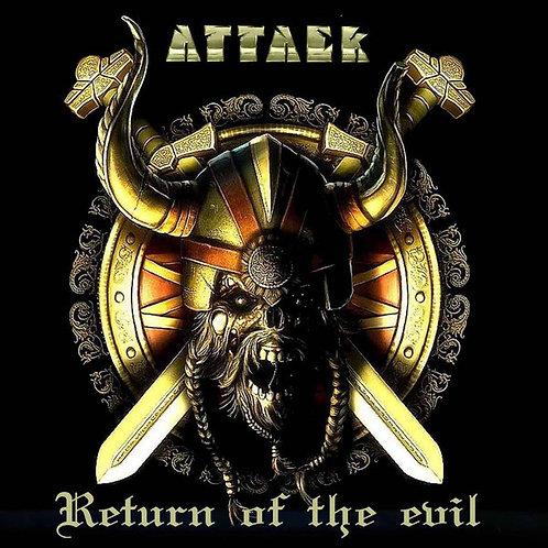 CD Attack - Return Of The Evil - Slipcase - Lacrado