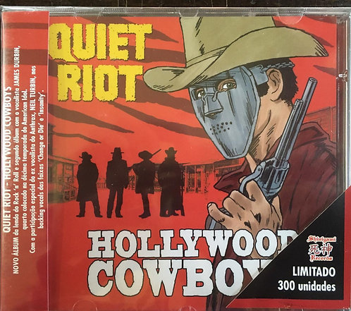 CD Quiet Riot - Hollywood Cowboys - Lacrado