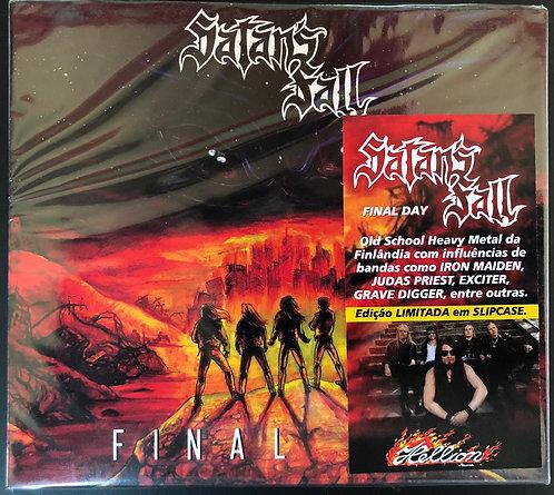 CD Satan's Fall - Final Day - Slipcase - Lacrado