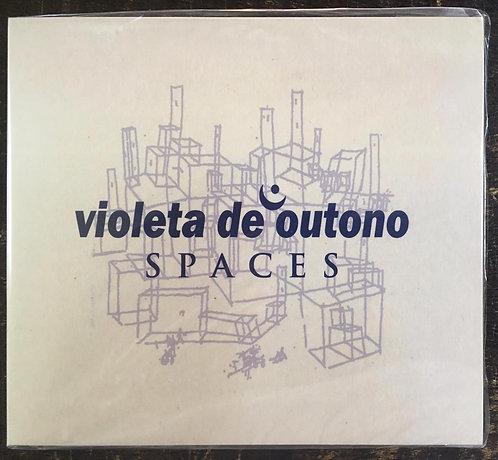 CD Violeta De Outono - Spaces - Digipack - Lacrado