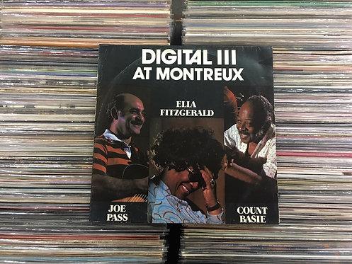 LP Ella Fitzgerald, Count Basie - Digital III At Montreux