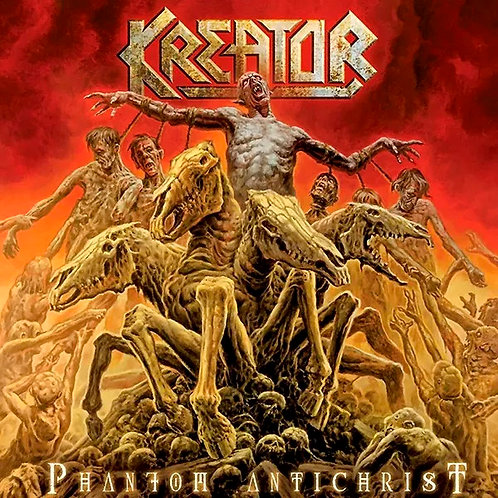 CD + DVD Kreator - Phantom Antichrist - Lacrado