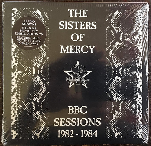 CD The Sisters Of Mercy - Bbc Sessions 1982-1984 - Lacrado - Digifile