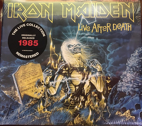 CD Iron Maiden - Live After Death - Duplo - Digipack - Lacrado
