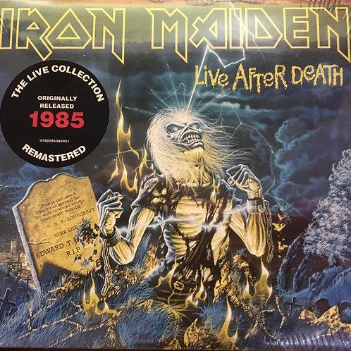 CD Iron Maiden - Live After Death - Duplo - Digipack - Lacrado