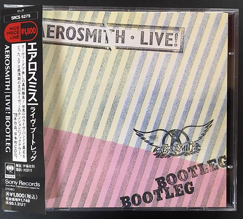 CD Aerosmith - Live! Bootleg - Japonês