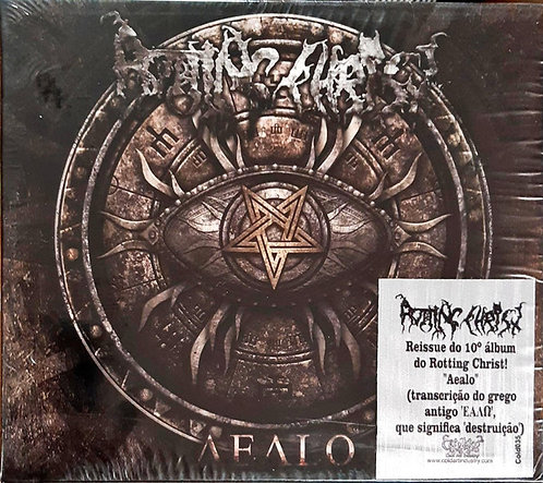 CD Rotting Christ - Aealo - Slipcase - Lacrado