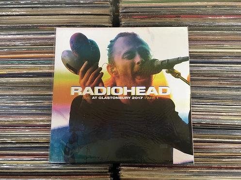 LP Radiohead - Live At Glastonbury 2017 Part1 - Importado - Lacrado
