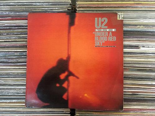 LP U2 - Under A Blood Red Sky (Live) - Importado